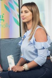 Ferne McCann – Appeared on This Morning in London, June 2016