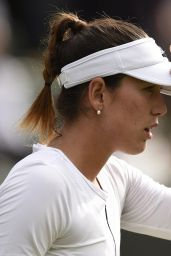 Garbine Muguruza – Wimbledon Tennis Championships in London 2nd Round 6/30/2016