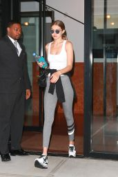 Gigi Hadid in Tights - Out in NYC 7/18/2016