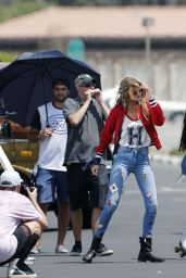 Gigi Hadid - Photoshoot in Los Angeles 7/28/2016
