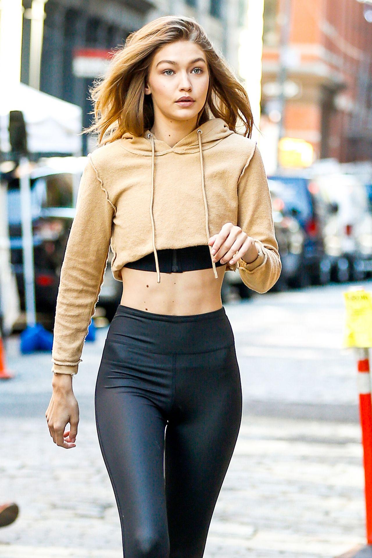 8013d858f7d Gigi Hadid Street Style - New York - 07 26 2016