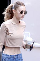 Gigi Hadid Street Style - New York - 07/26/2016