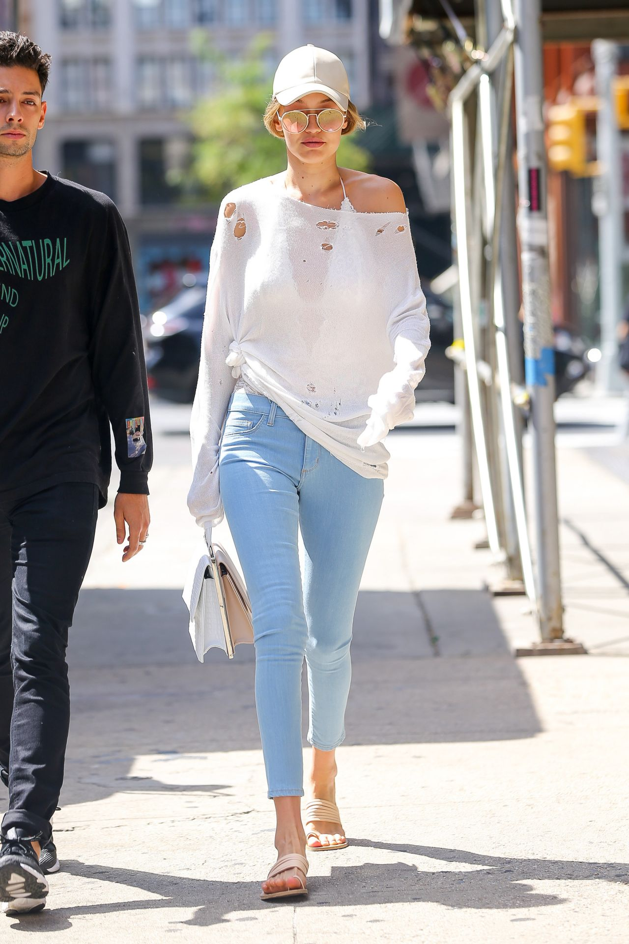 Gigi Hadid Street Style New York City 7 24 2016
