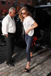 Gigi Hadid Street Style - NYC, July 2016