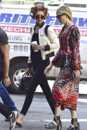 Gigi Hadid Urban Style - New York City 7/12/2016