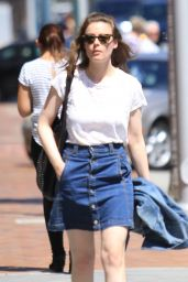 Gillian Jacobs - Shopping in Beverly Hills, CA 7/27/2016