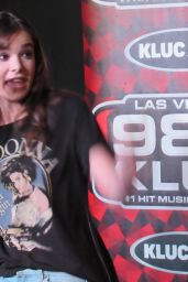 Hailee Steinfeld at 98.5 KLUC in Las Vegas, NV 7/20/2016