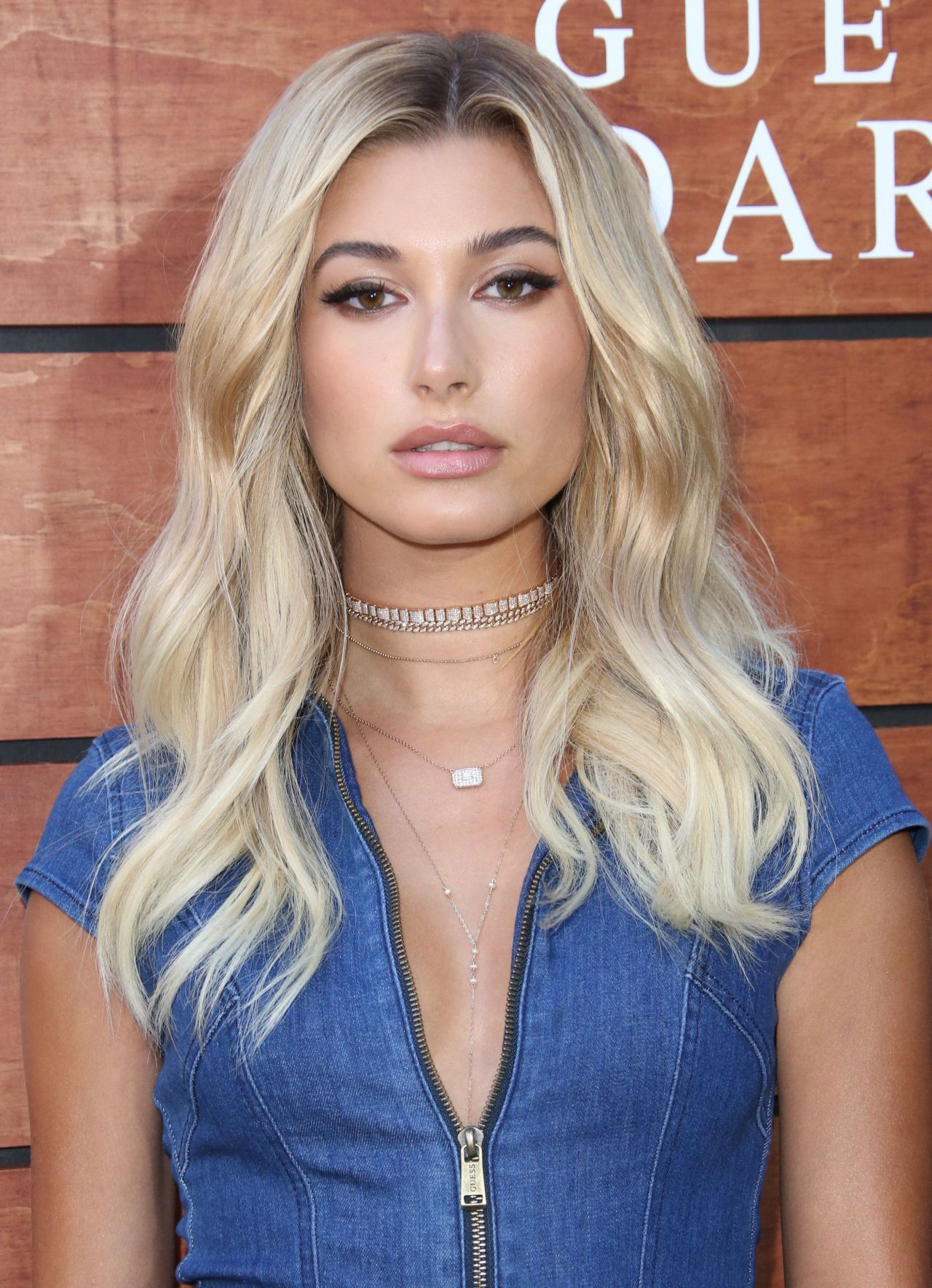 Hailey Baldwin Guess Dare Fragrance Launch In Los