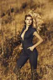 Hailey Baldwin – Guess Fall Winter Campaign 2016