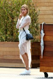 Hailey Baldwin Style - Soho House at Pacific Coast in Malibu 7/25/2016