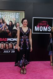 Hayley Orrantia – 'Bad Moms' Premiere in Los Angeles