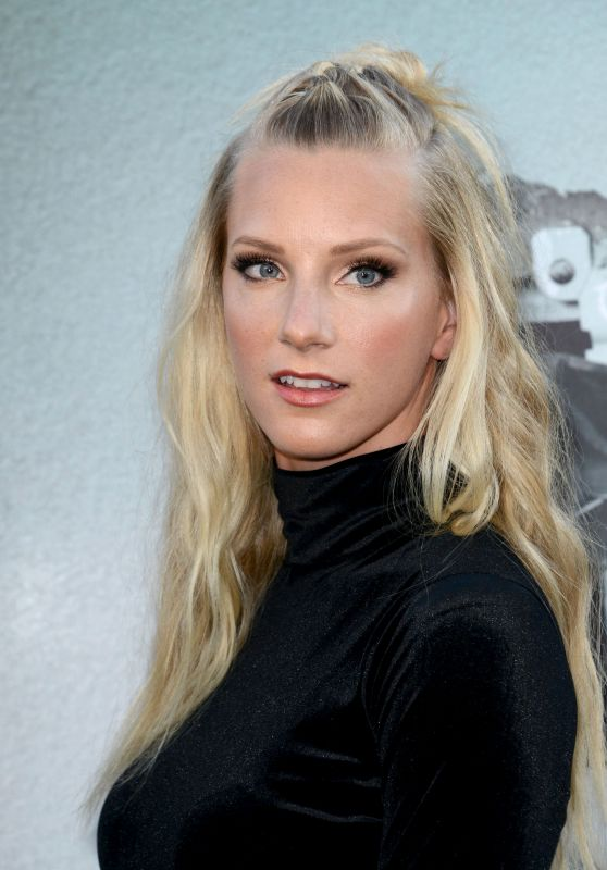 Heather Morris – 'Lights Out' Premiere in Los Angeles, CA 7/19/2016
