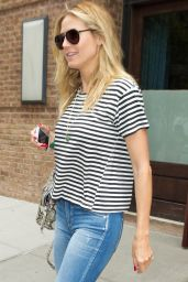 Heidi Klum Casual Style - Out in NYC 7/1/2016