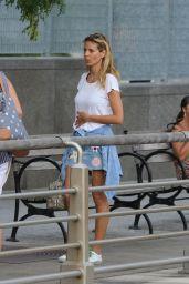 Heidi Klum Summer Street Style - NYC 7/16/2016