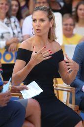 Heidi Klum Visits
