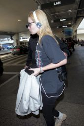 Iggy Azalea at LAX Airport in Los Angeles 7/30/2016