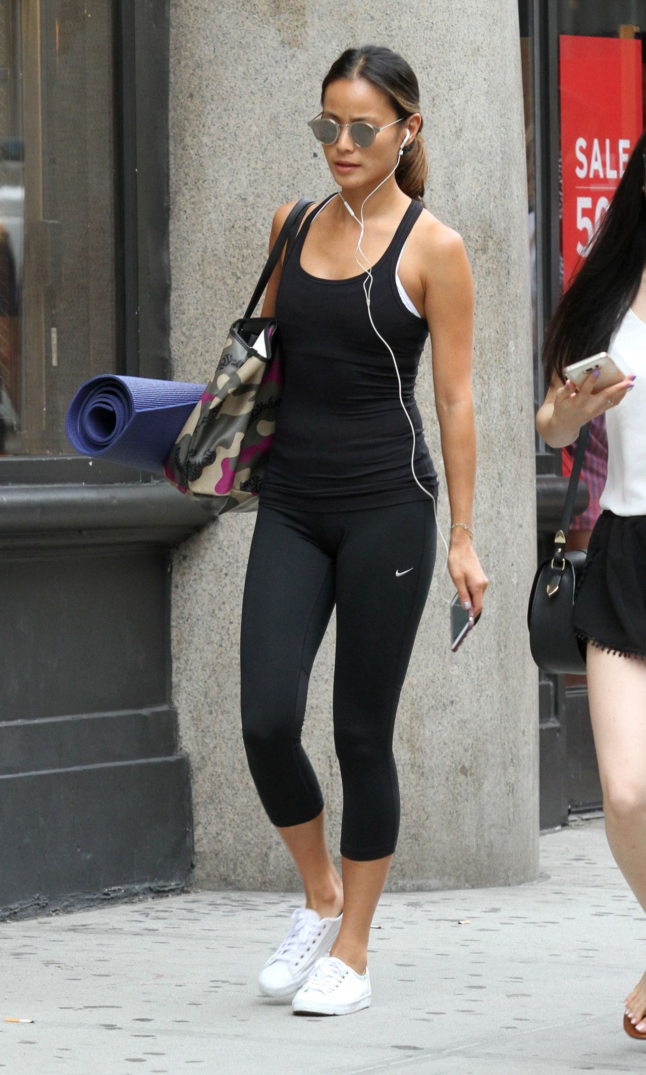 Jamie Chung Leaving Yoga Class In Nyc 7 13 2016