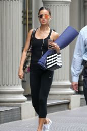 Jamie Chung Leaving Yoga Class in NYC 7/13/2016