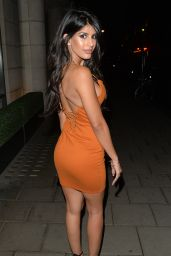 Jasmin Walia - Night Out at Novikov in Mayfair, London 7/2/2016