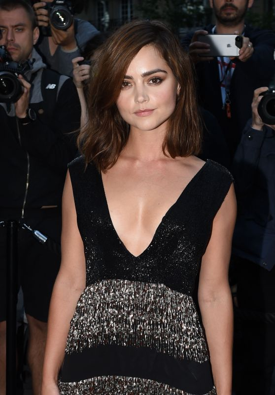 Jenna Coleman at Vogue Party - Paris Fashion Week, July 2016