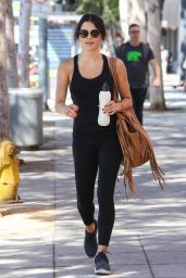 Jenna Dewan - Leaving a Gym in Beverly Hills 7/25/2016