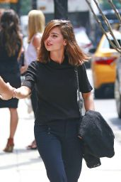 Jenna-Louise Coleman - Out in NYC 7/14/2016