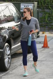 Jennifer Garner in Spandex - West Hollywood 7/30/2016