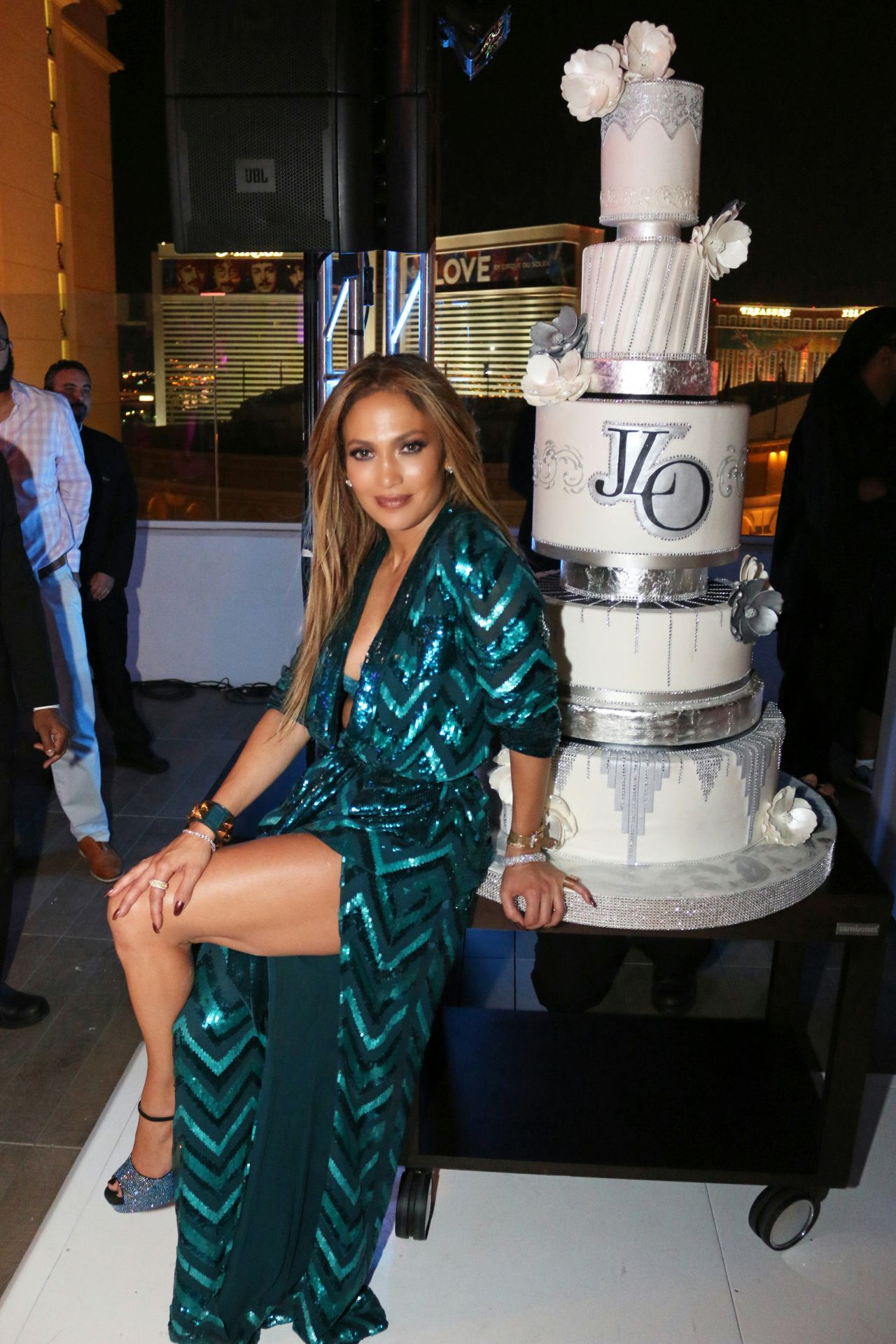 Jennifer Lopez Jennifer Lopez S Private 47th Birthday At