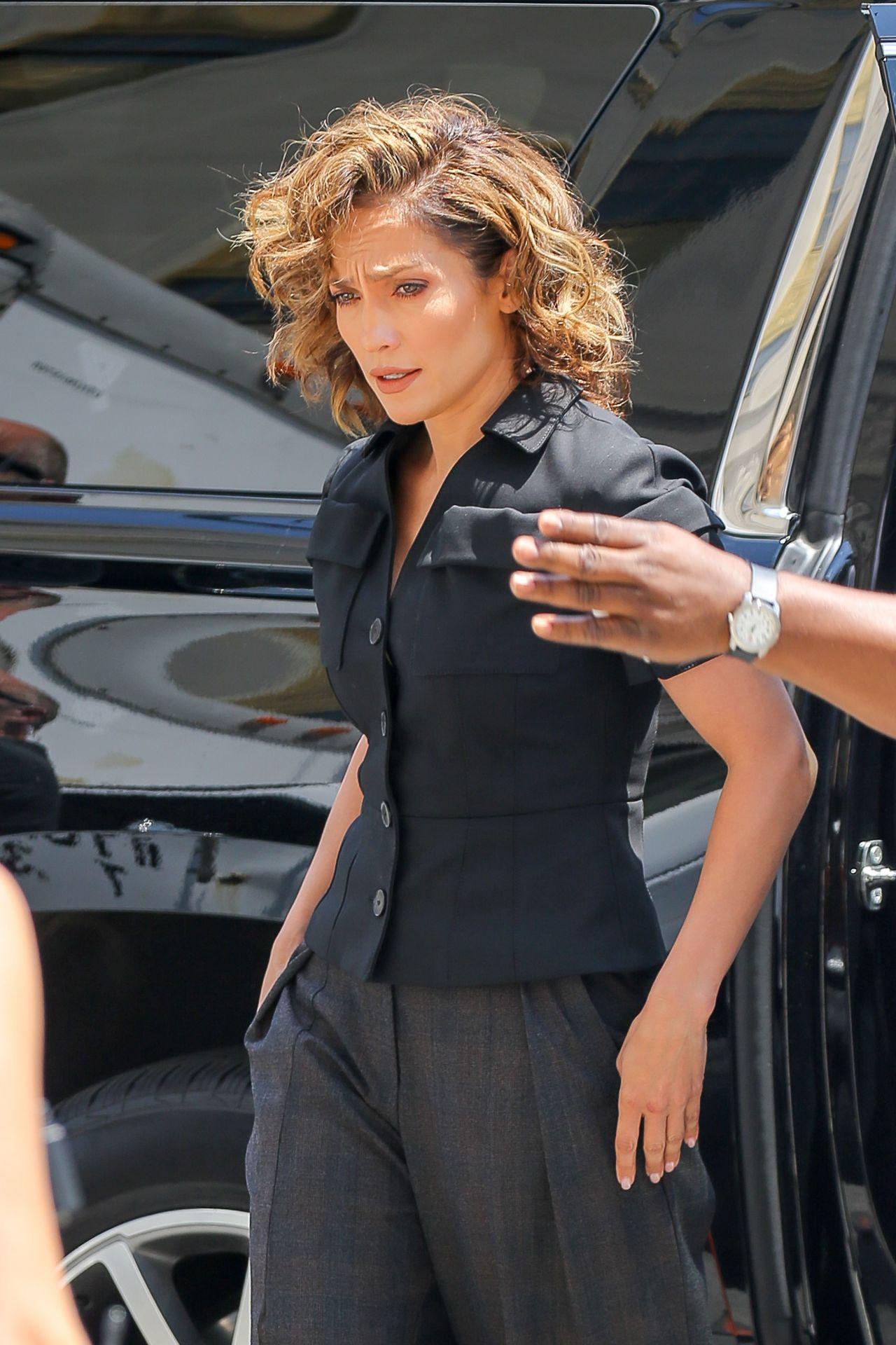 Jennifer Lopez Shades Of Blue Set Photos Nyc 7 6 2016