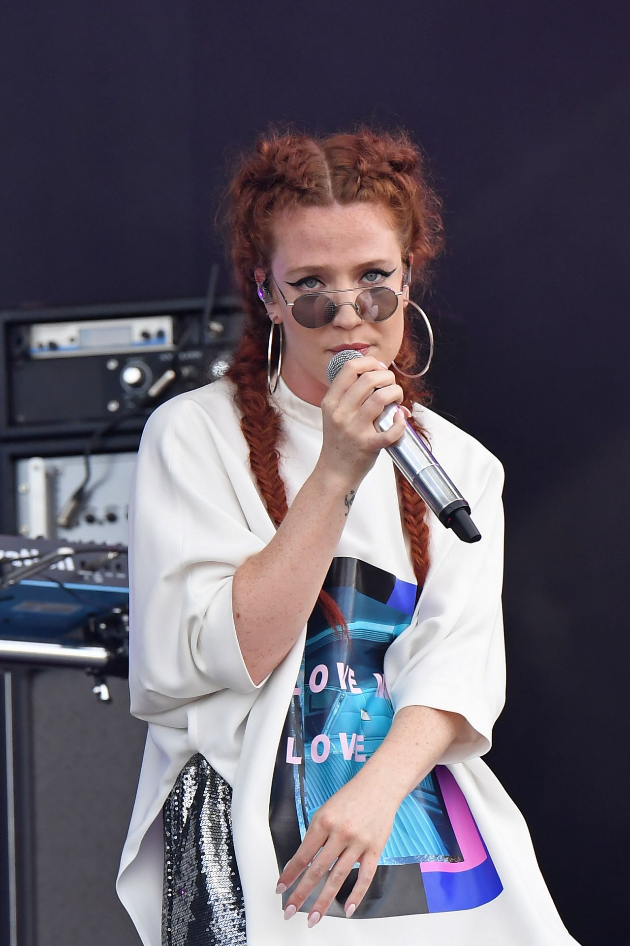 Jess Glynne Performs At Wireless Festival At Finsbury Park