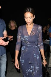 Jessica Alba Night Out Style - Nice Guy in West Hollywood 7/30/2016