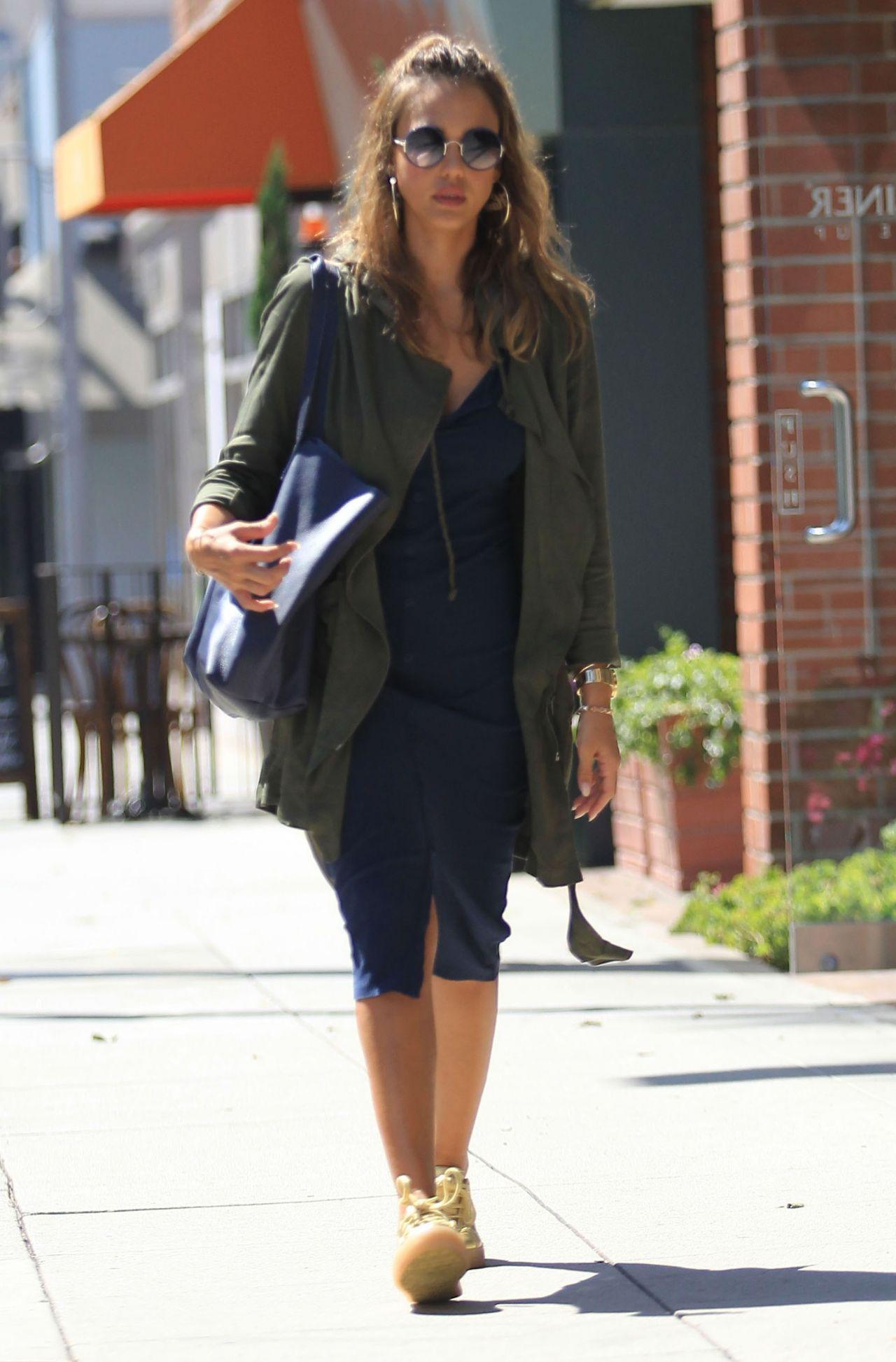 Jessica Alba Street Style Los Angeles July 27 2016