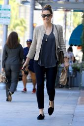Jessica Biel Casual Style - Out in Beverly Hills, 07/06/2016