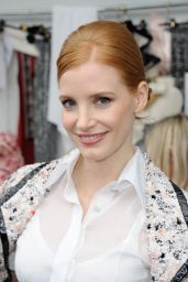Jessica Chastain - Chanel Haute Couture Fall/Winter 2016-2017 Show in Paris 7/5/2016