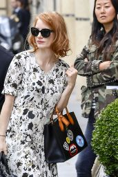 Jessica Chastain - Out in Paris 7/2/2016