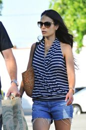 Jordana Brewster - Out in Santa Monica 7/24/2016