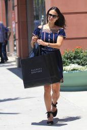 Jordana Brewster Style Inspiration - Shopping in Beverly Hills, 07/07/2016