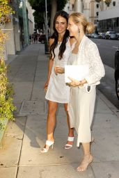 Jordanna Brewster Classy Fashion - at Mr Chow in LA 7/1/2016
