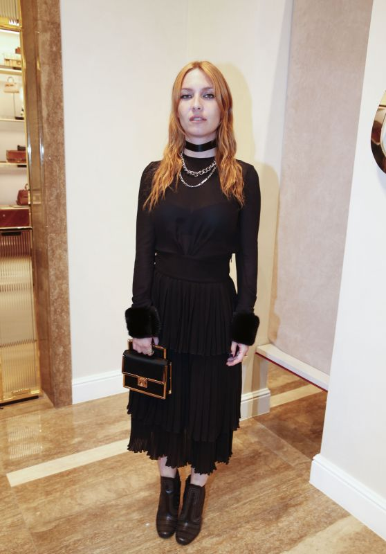 Josephine de la Baume – The Salvatore Ferragamo Party in Paris, July 2016