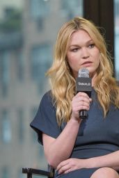 Julia Stiles at AOL Build Speaker Series in New York City, July 2016
