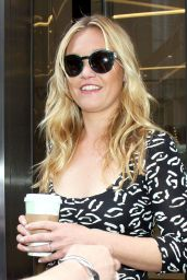 Julia Stiles at SiriusXM - New York City, 07/07/2016