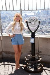 Julianne Hough at the Empire State Building in New York City 07/11/2016