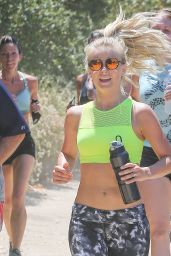 Julianne Hough in Spandex - Hosts a 2 Mile Run in Studio City 7/9/2016