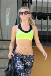 Julianne Hough in Spandex - Leaving the Gym in Los Angeles 7/27/2016