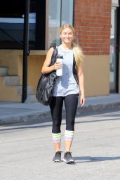 Julianne Hough - Leaving the Gym in West Hollywood 7/29/2016