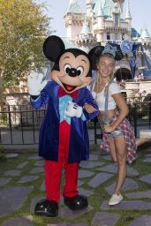 Julianne Hough - Out at Disneyland 6/30/2016