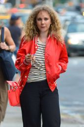 Juno Temple - Out in Manhattan 7/1/2016