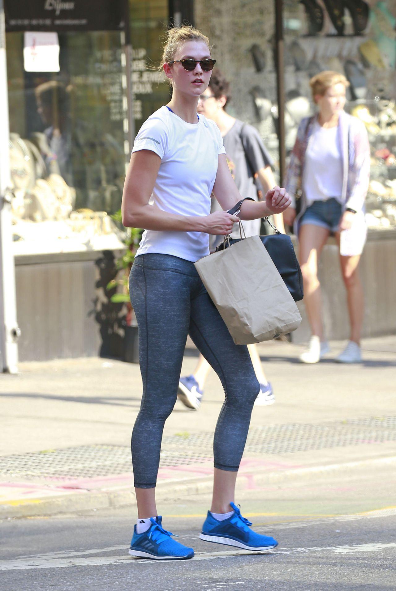 Karlie Kloss - After a Workout Session ...