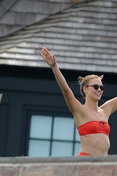 Karlie Kloss Bikini Candids - Westerly, July 2016