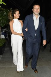 Kate Beckinsale Night Out Style - at Scott